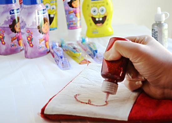 #HealthySmiles, Stocking Stuffers, Colgate Dora the Explorer tooth paste and brysh
