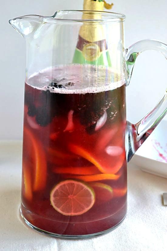 Lipton Mocktail add Sparkling Grape Juice
