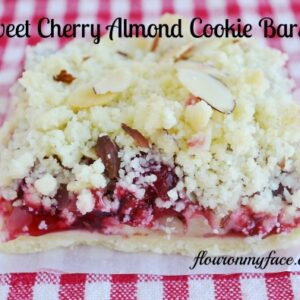 Cherry Recipes, Cherry Cookie Bar, Solo Sweet 16 Recipe Contest