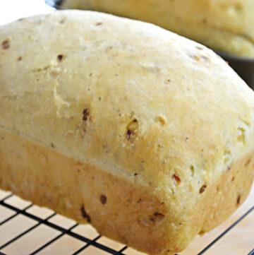 bake until golden brown, stuffing bread, bread recipes