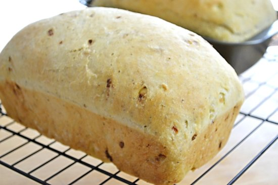 bake until golden brown, stuffing bread, bread recipes