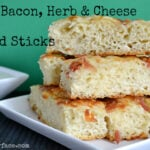 Bacon Herb Cheese Bread