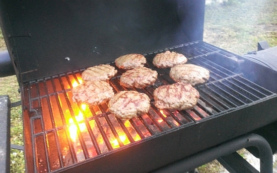 BBQ, Grilling, Burger seasoning, HTC8, Troop8X