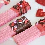 Chocolate, Valentines Day, DIY, Homemade Cookies, Dipped, Chocolate