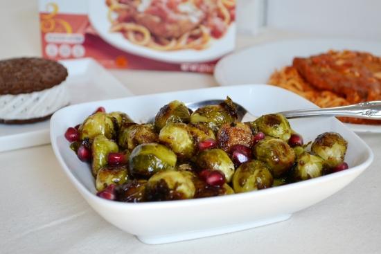 Roasted Vegetables, Lean Cuicine, Healthy vegetable side dish