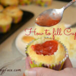 How To Fill Cupcakes with Strawberry Filling