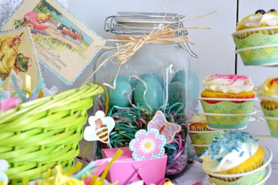 Easter Table Decorations, Easter Tablescape, World Market decorating