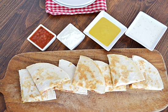 Fresh Take Chicken Quesadillas