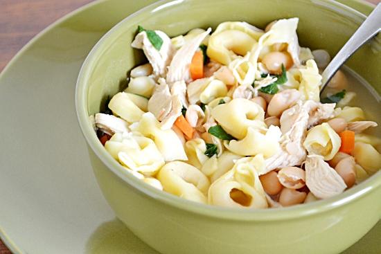 Soup, Tortellini Soup, Chicken Tortellini Soup,