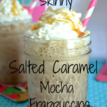 International Delight Skinny Salted Caramel Mocha Frappuccino #LightIcedCoffee