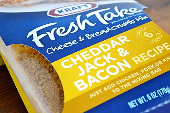 Kraft, Fresh Take, Recipe, Cheddar Jack, Bacon, Bread Crumbs, Cheese, Coating