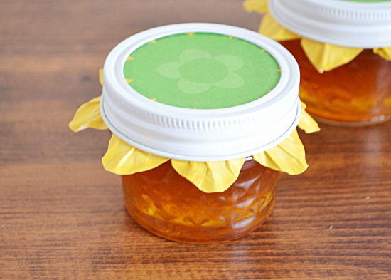 citru marmalade, cupcake liners, jar toppers, cheap, easy way to top your jars