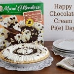 Celebrate National Pie Day with Marie Callender's Chocolate Cream Pie  #MCPiDay #spon