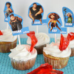 The Croods Crystal Cave Cupcakes #TheCroods