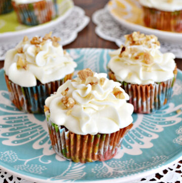 Carrot Cake, Cupcakes, Cream Cheese, Frosting