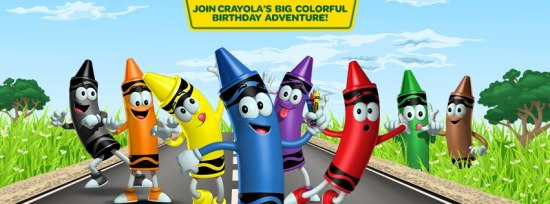 happy 110th birthday to the original 8 crayola crayons flour on my