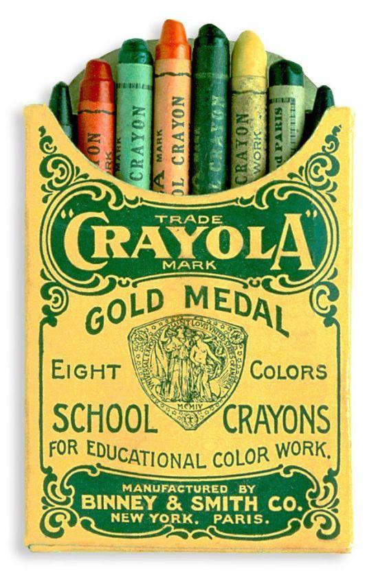 Crayola Vintage Style