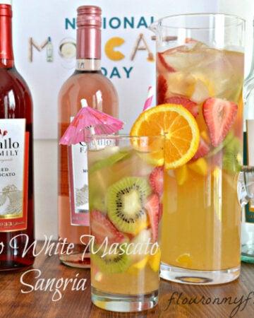 Gallo, Moscato, Wines, National Mascato Day, White Wine Sangria