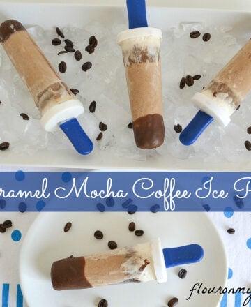 caramel, mocha, coffee, ice pop, recipe, International Delight, what's your id?