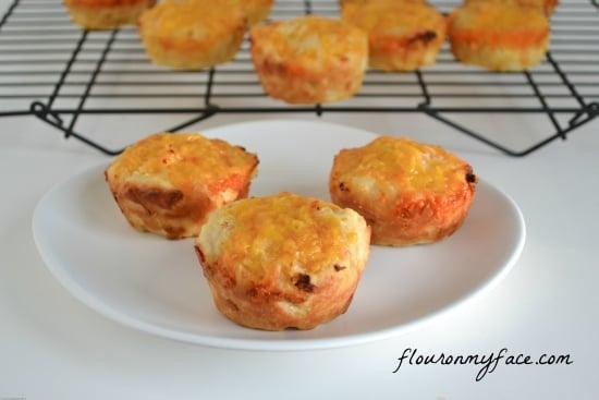 savory onion cheddar muffin recipe