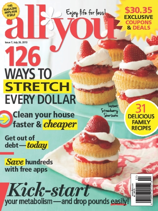 All You, Magazine, July Issue,
