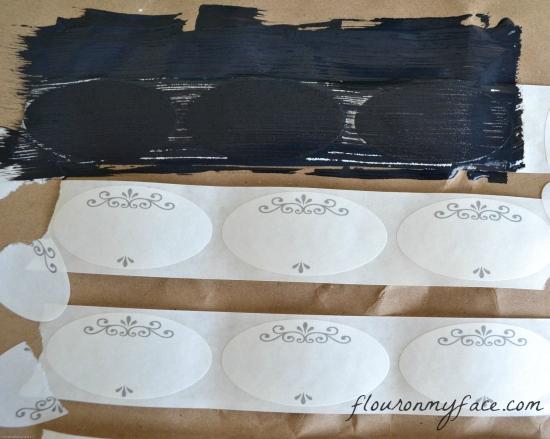 chakboard paint, chalkboard labels, DIY Chalk Labels, DIY chalkboard mason jar labels
