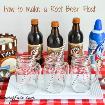 A&W Root Beer Float, Ice Cream Float, Edys, Ice Cream, Root Beer