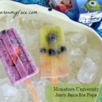 Juicy Juice, Ice Pops, Monsters University Ice Pops