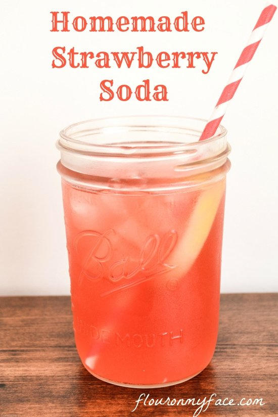 soda recipes, soda making, homemade soda, strawberry soda recipe