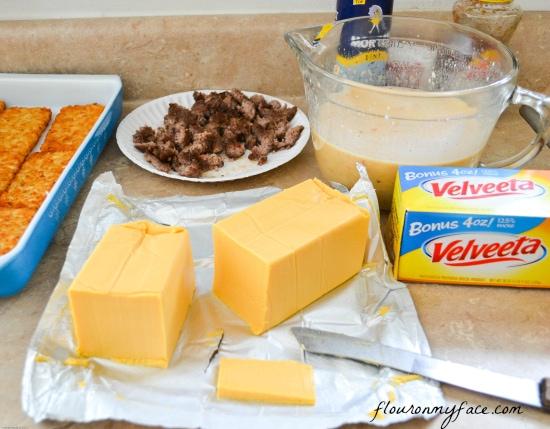 Velveeta, Cheese, Recipes, Breakfast, Casserole, Bake, Cheesy breakfast