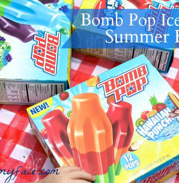 Bomb Pop, Summer Fun, Ice Pops,