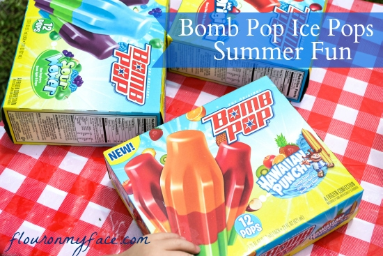 Bomb Pop, Summer Fun, Ice Pops,