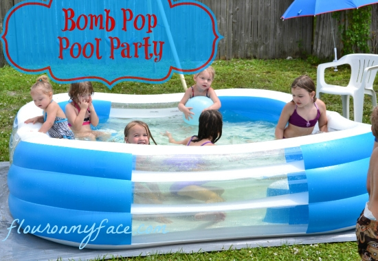 Bomb Pop, Summer, Pool Party, Summer ICe Pops