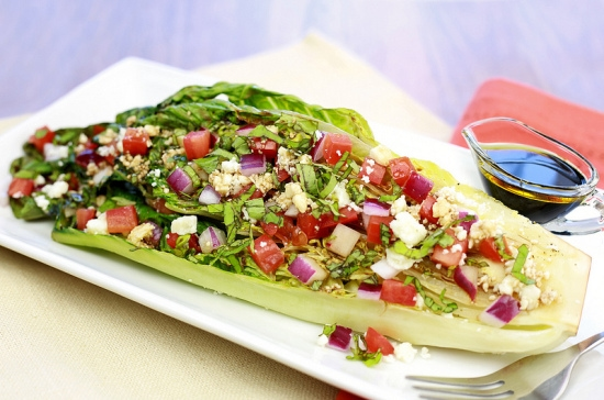Hungry Girl, Grilled Romaine Salad