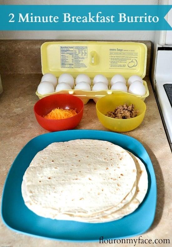fast breakfast, egg board, kids breakfast idea