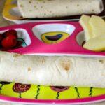 2 Minute Egg and Sausage Breakfast Burrito