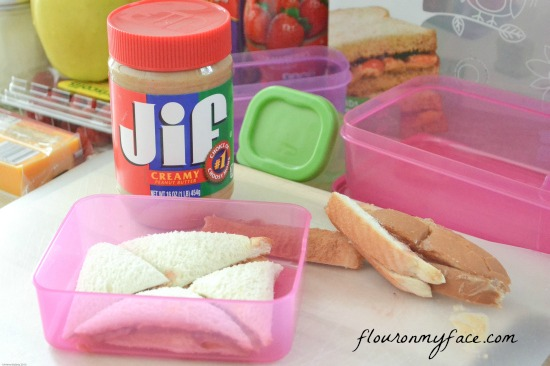Jif, Smuckers, Rubbermaid, healthy lunch ideas