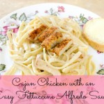 Spicy Cajun Chicken Fettuccine Alfredo