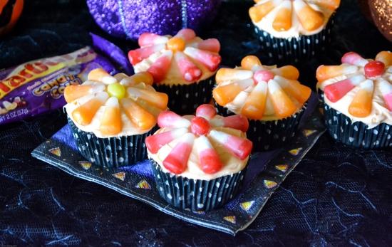 candy corn, cupcakes, halloween cupcakes, halloween food