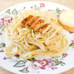Spicy Chicken Alfredo sauce recipe for Cajun Chicken Alfredo Fettuccine