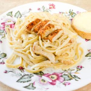 Spicy Chicken Alfredo sauce recipe for Cajun Chicken Alfredo Fettuccine