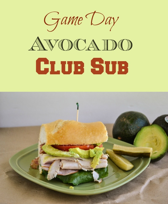 Game Day Avocado Club Sub #AvoAllStars