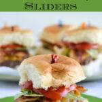 Stuffed Bacon Cheeseburger Sliders #KHHolidayRollCall