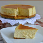 Vanilla Bean Cheesecake, progressive dinner, dessert