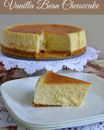 Vanilla Bean Cheesecake, progressive dinner, dessert