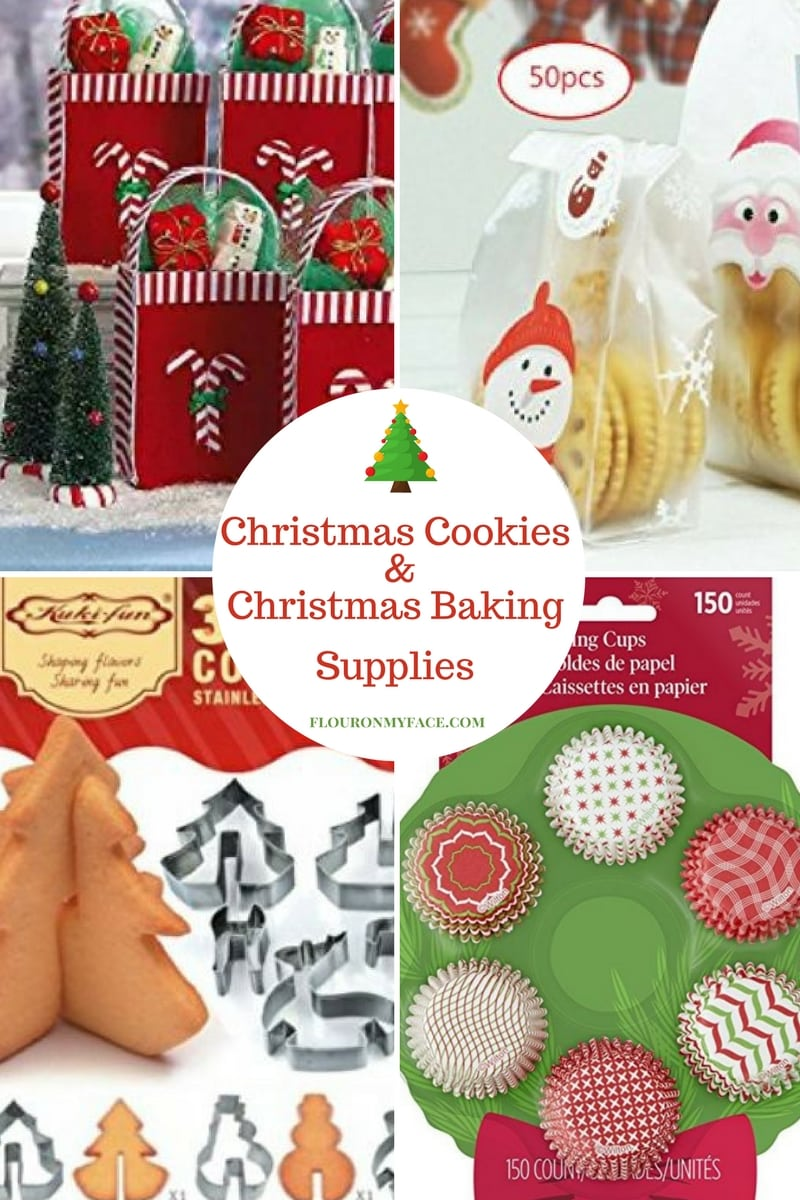 Amazon Influencer List of favorite Christmas Baking and Cookie Exchange Supplies