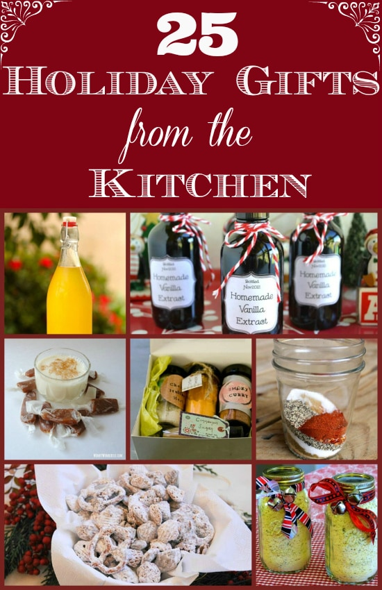 holiday food gifts, gifts from the kitchen