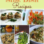 Holiday, side dish recipes. side dishes, thanksgiving, meal planning. Holiday recipes