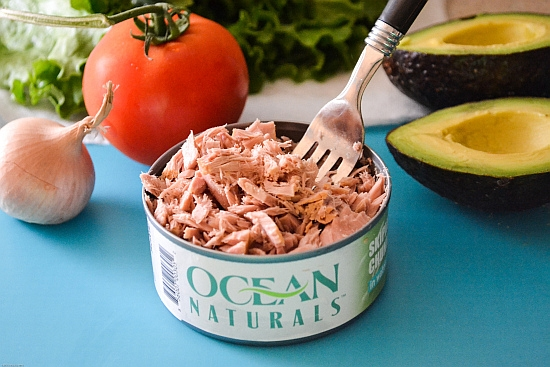 Ocean Naturals, Canned tuna, premium tuna, healthy lunch options