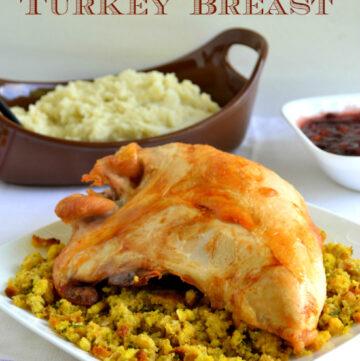 How to roast a turkey breast via flouronmyface.com